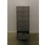 8175 Card File Cabinet, 6 Drawer
