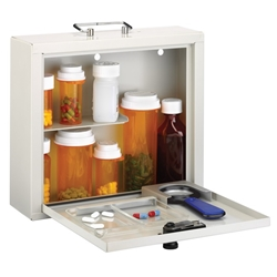 Med-Master® – Deluxe Steel Medication Case